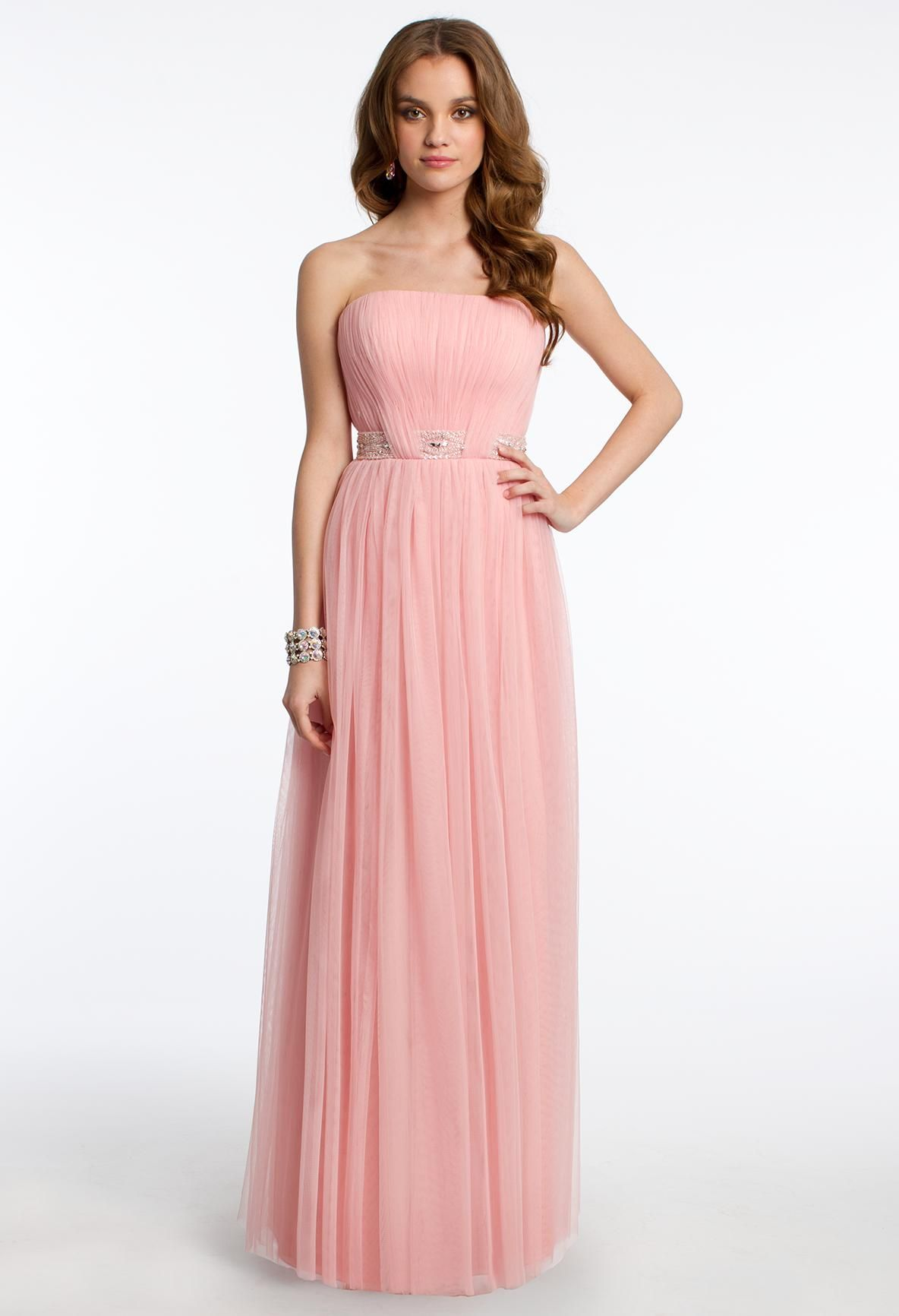 Strapless Ruched Prom Dress #camillelavie #CLVprom | PROM DRESSES ...