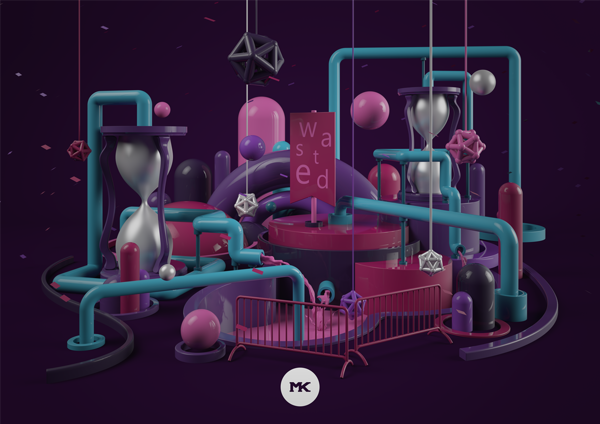 people have called it time by Mateusz Krol, via Behance