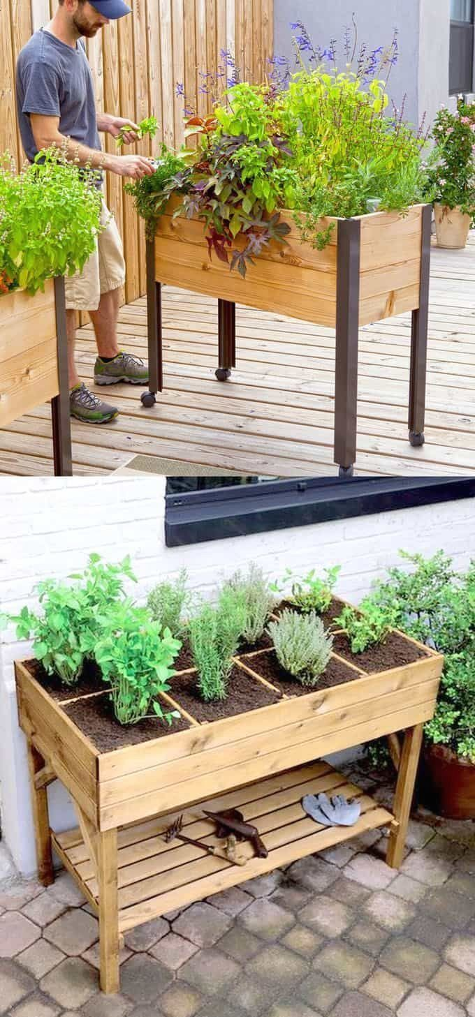 All About DIY Raised Bed Gardens - Part 1 | 1000 in 2020 ...
