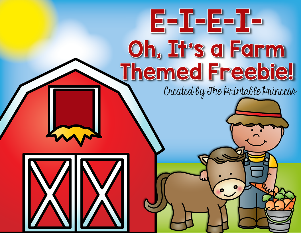 Farm Freebie No Prep For Kindergarten Amp 1st
