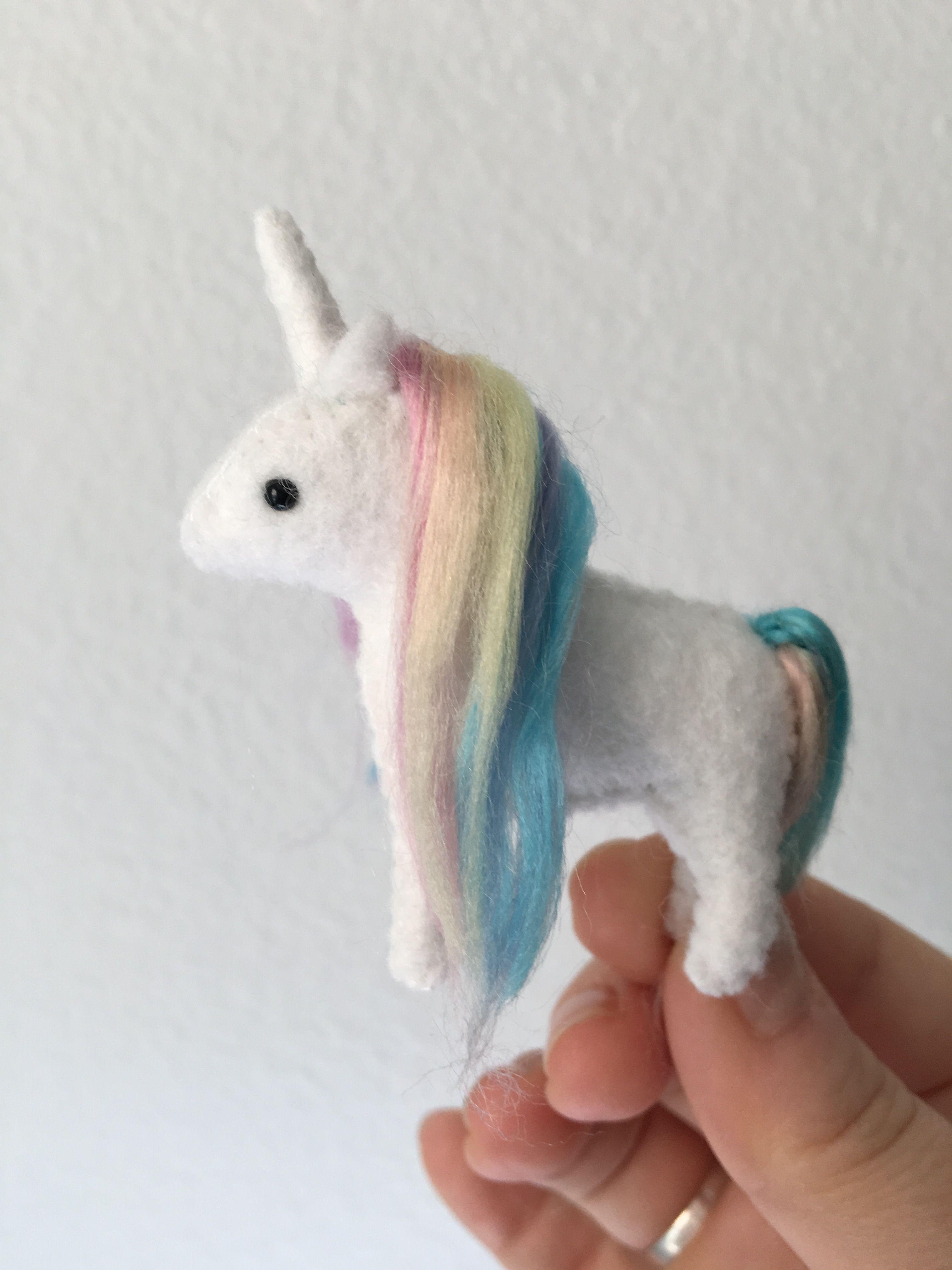 Mini Stuffed Unicorn Plush Tiny Unicorn Pegasus Alicorn