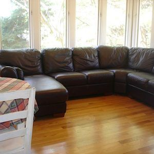 Raymour And Flanigan Leather Sectional Sofa Leathersectionalsofas