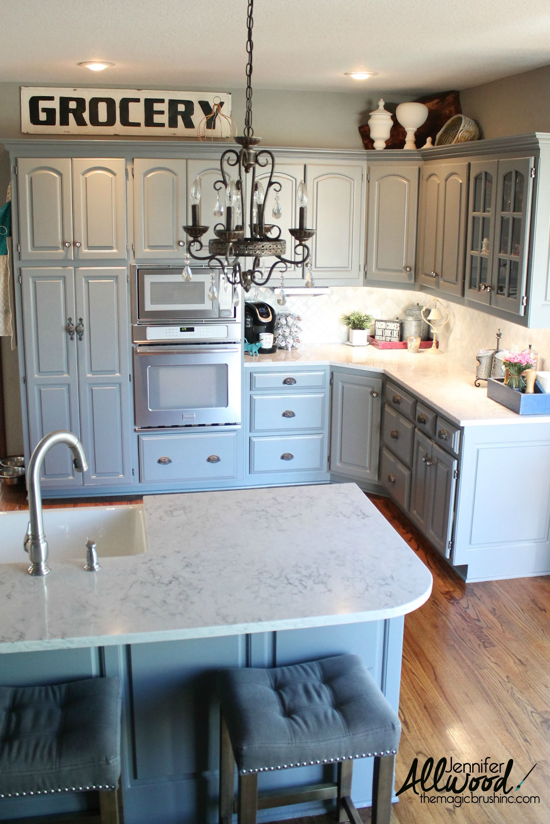 Silestone Countertops And Lowering The Bar Our Kitchen Remodel Jennifer Allwood Home In 2020 Silestone Countertops Kitchen Remodel Diy Kitchen Countertops