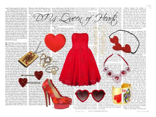 """Queen of Hearts"" by eclare887 ❤ liked on Polyvore featuring Edition, Ted Baker, Charlotte Olympia, Moschino, Phoebe Coleman and Évocateur"