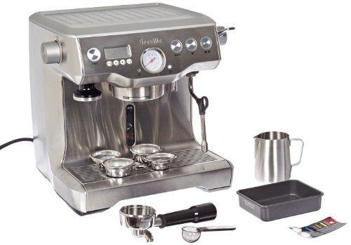 Best Deal Breville Rm Bes900xl Certified Remanufactured Dual Boiler Semi Automatic Espresso Machine Semi Automatic Espresso Machine Automatic Espresso Machine