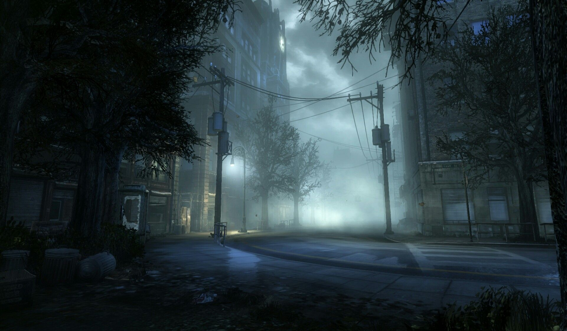 Silent Hill Downpour Streets Silent Hill Silent Hill Town