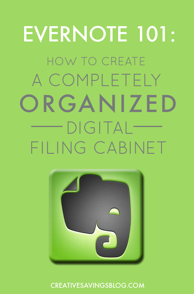 how to use evernote to go paperless