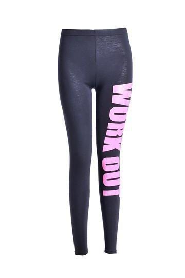 Women's Sports Leggings Fashion High Elastic Trousers Comfortable Cultivate Morality Pants Leggings | Mopixiestore.com