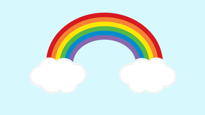 Image result for classroom rainbow clipart
