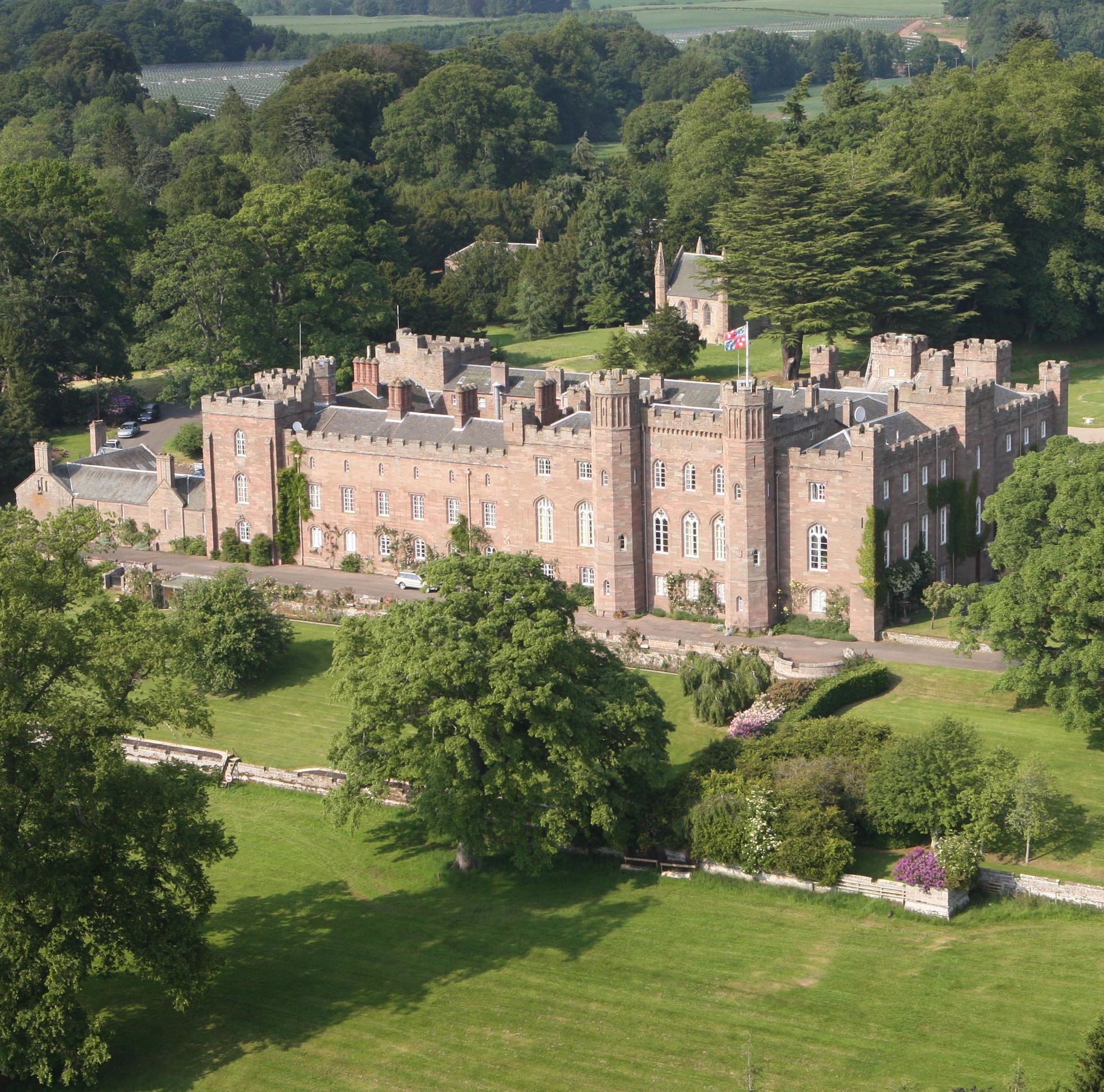 Aerial Image Of Scone Palace Www Scone Palace Co Uk With Images