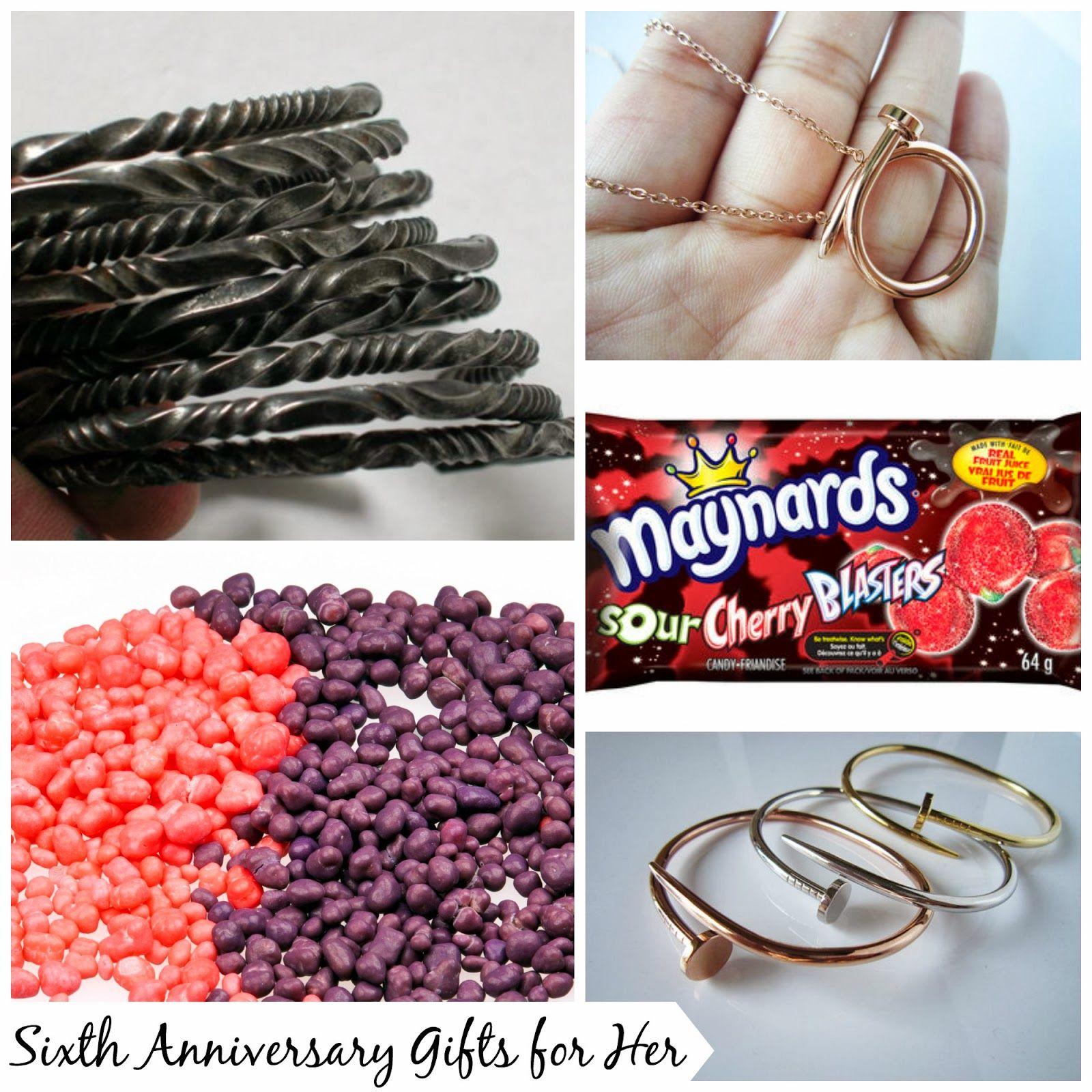 Sweet Stella S Sixth Wedding Anniversary Gift Ideas For Her Anniversay Giftforher