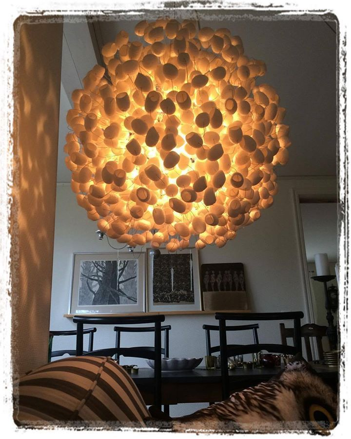 FULL MOON Pendant Light By Ango At This Collectors Home In Sweden - Where to buy pendant lights