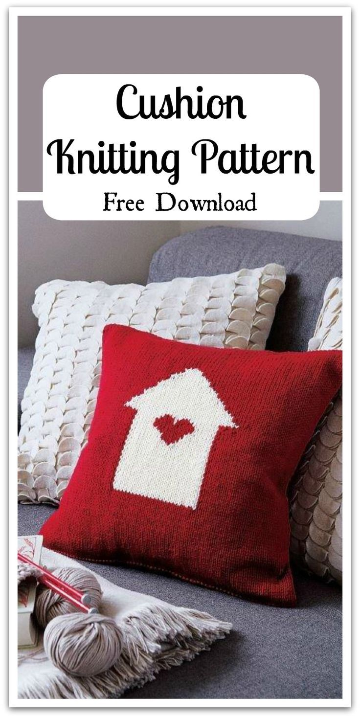 Homewares by Debbie Bliss. Cushion knitting pattern made in Debbie ...