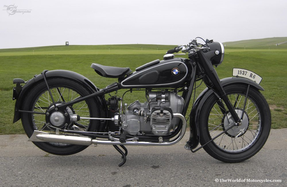 Antique Motorcycles For Sale 1937 Bmw R6 Twin 596cc Motorcycle
