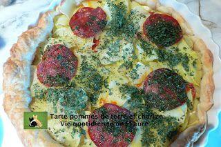 Tarte pommes de terre et chorizo, Vie quotidienne de FLaure