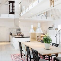This Swedish home is BEYOND fabulous! Take a look...