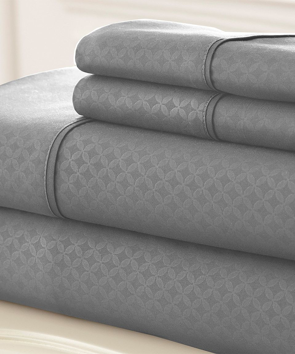 Platinum Soho Sheet Set By Colonial Home Textiles Zulily