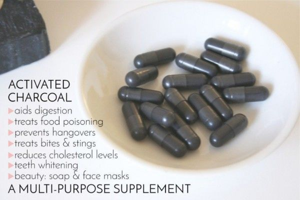 nice Improve Liver, Adrenal Gland And Kidney Functions With Activated Charcoal