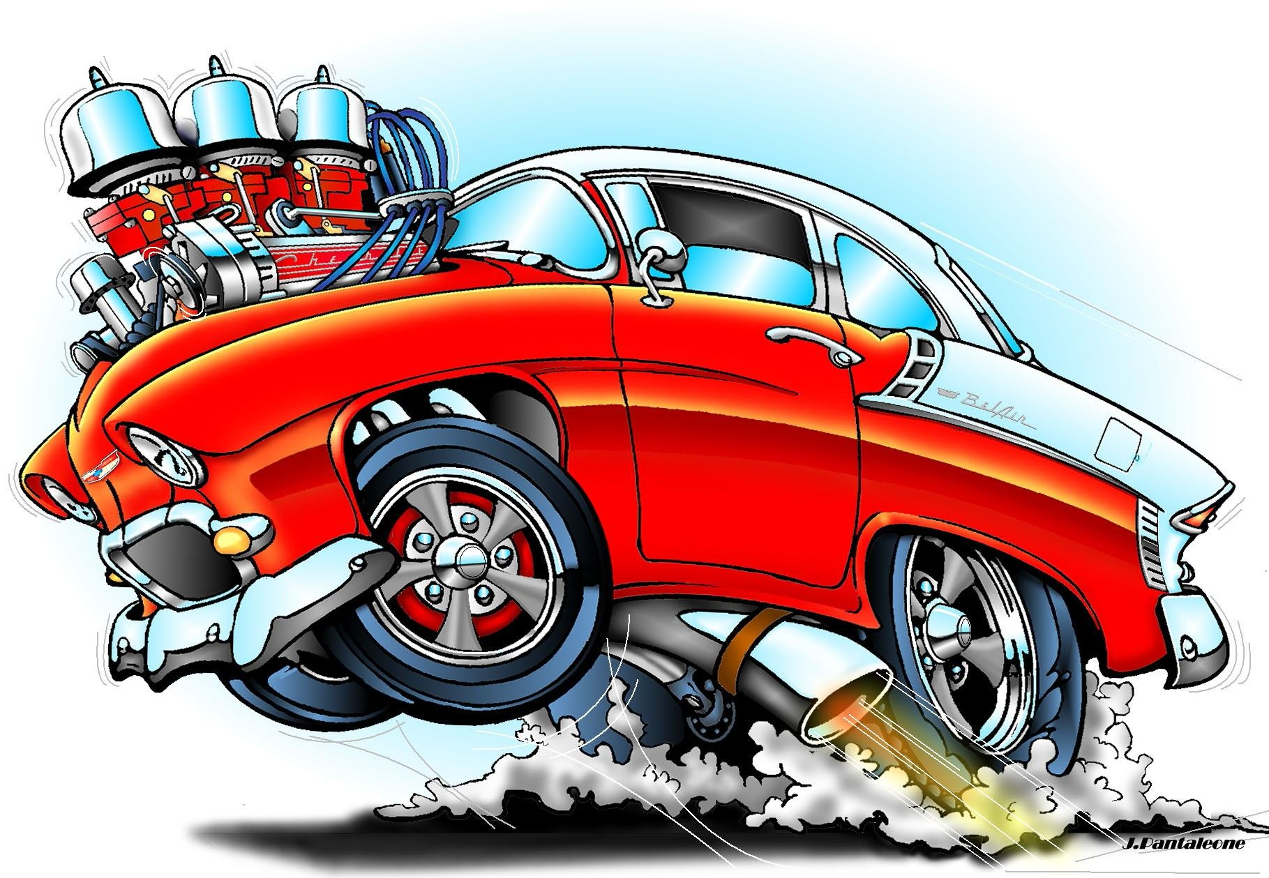 Pin By Tim Fuzzy Smith On 28 Cartoons And Car Art Cartoon