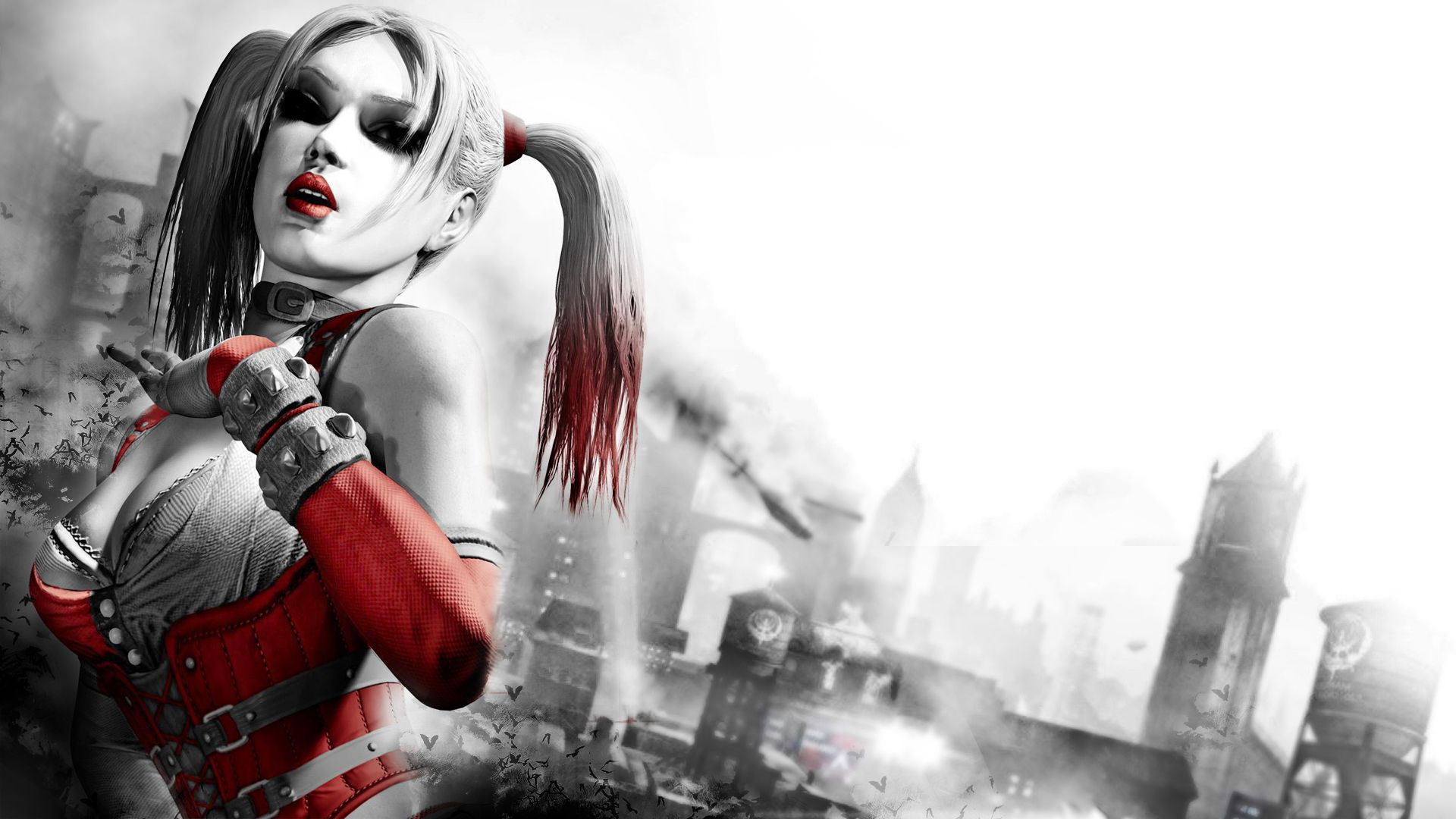 Batman Arkham City Wallpaper, Game Modeks female