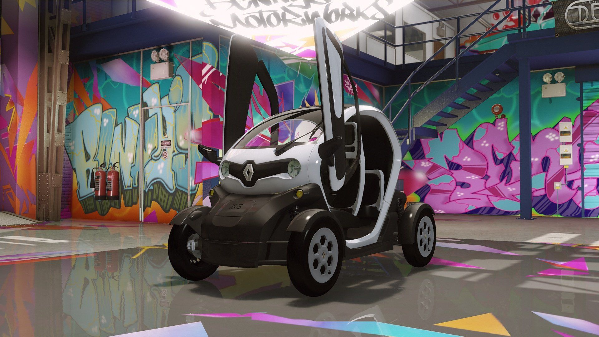 renault twizy de 2012 convertie pour gta 5 tuning f1. Black Bedroom Furniture Sets. Home Design Ideas