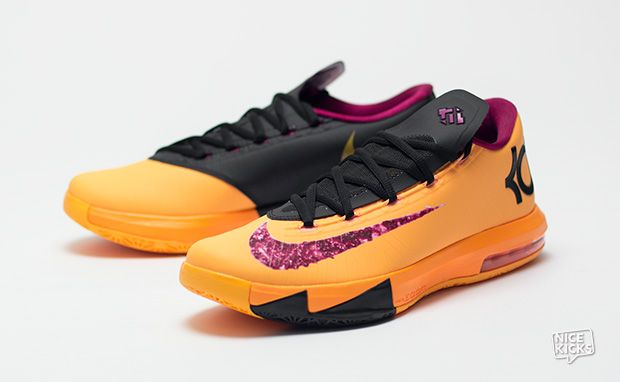 """outlet store ed71b e6462 Nike KD VI """"Peanut Butter & Jelly"""" Detailed Images ..."""