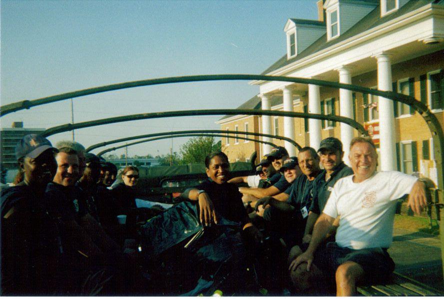 FDNY Hurricane Katrina relief, leaving Algiers