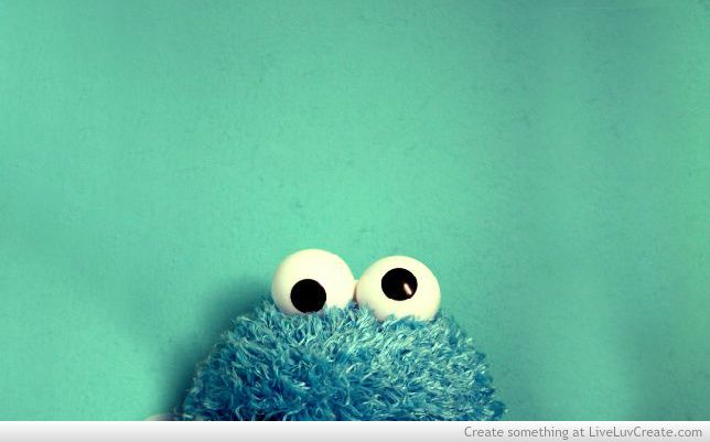 Cute Cookie Monster Love Pretty Quotes