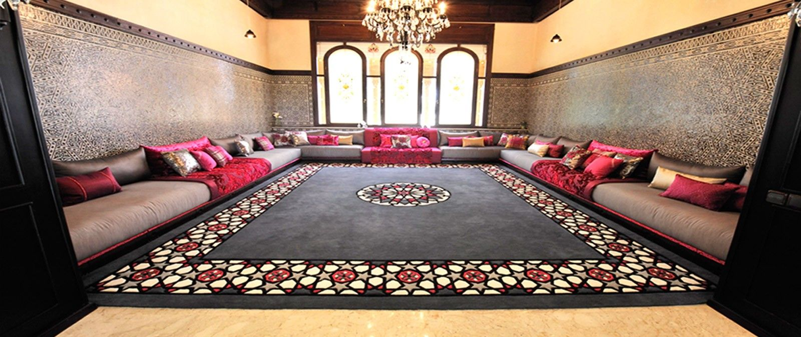 Salon Marocain Maroc Prix tapis pour salon marocain moderne | enredada
