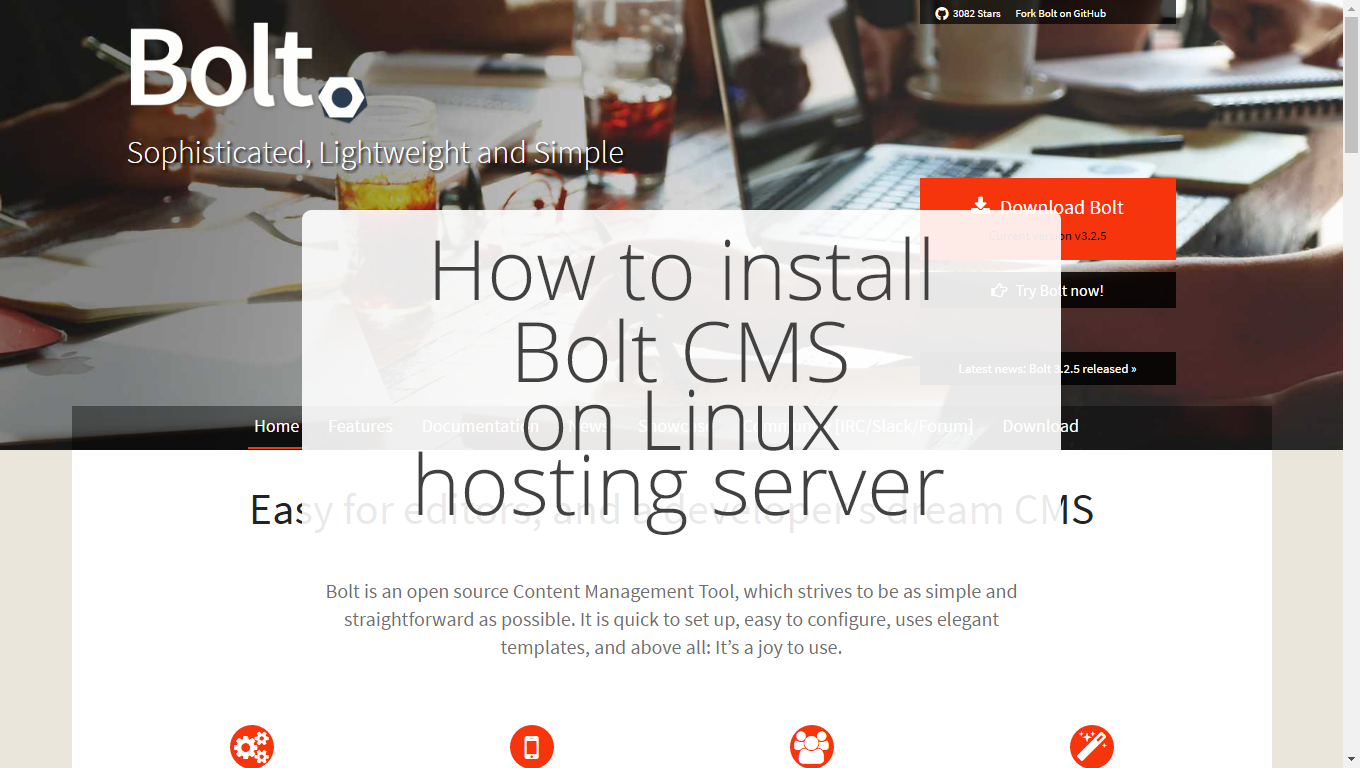 How to install Bolt CMS on GoDaddy linux hosting server?