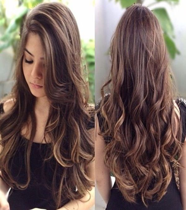 Teen hairstyles wavy underlayers