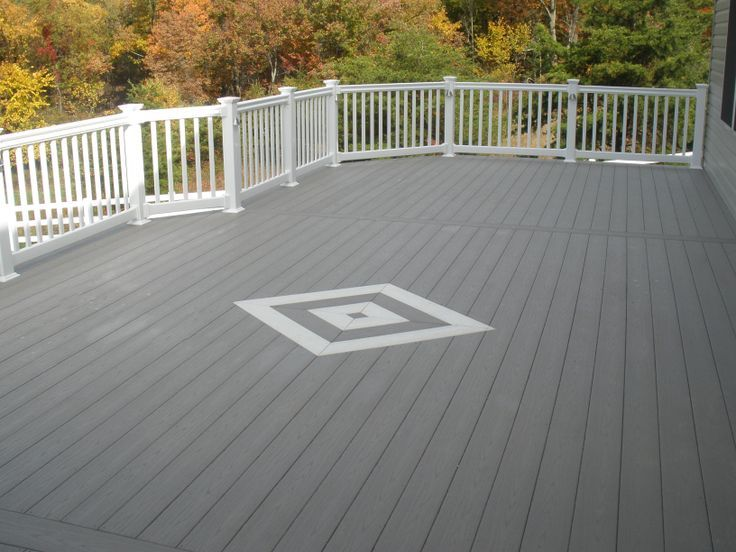 does composite deck get slippery when floor