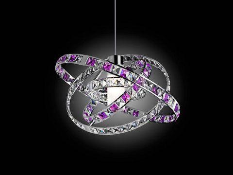 Le lampade gioiello queen di micron arredamento