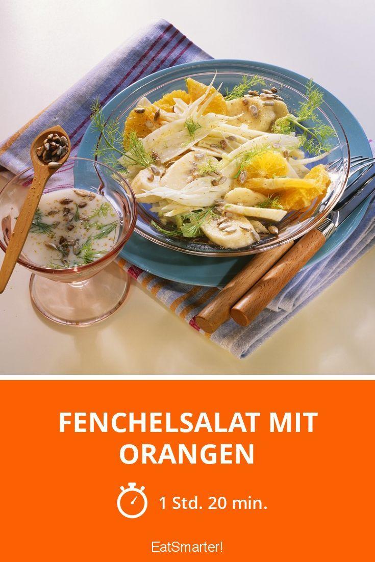 Fenchelsalat mit Orangen - smarter - Zeit: 1 Std. 20 Min. | eatsmarter.de