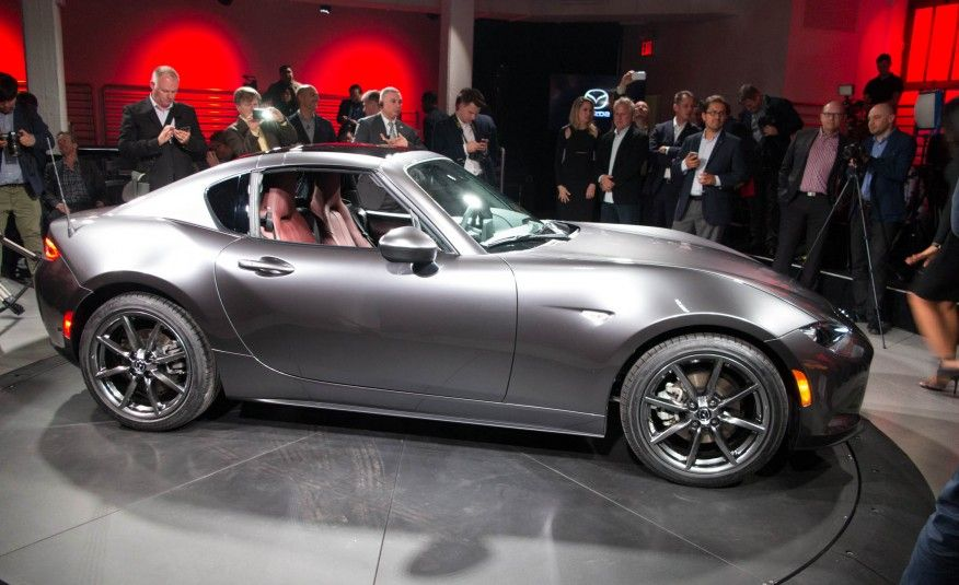 View 2017 Mazda Miata Rf The Fastback You Ve Been Waiting For Only Better Photos From Car And Driver Find High Resolution Images In Our Photo Gallery