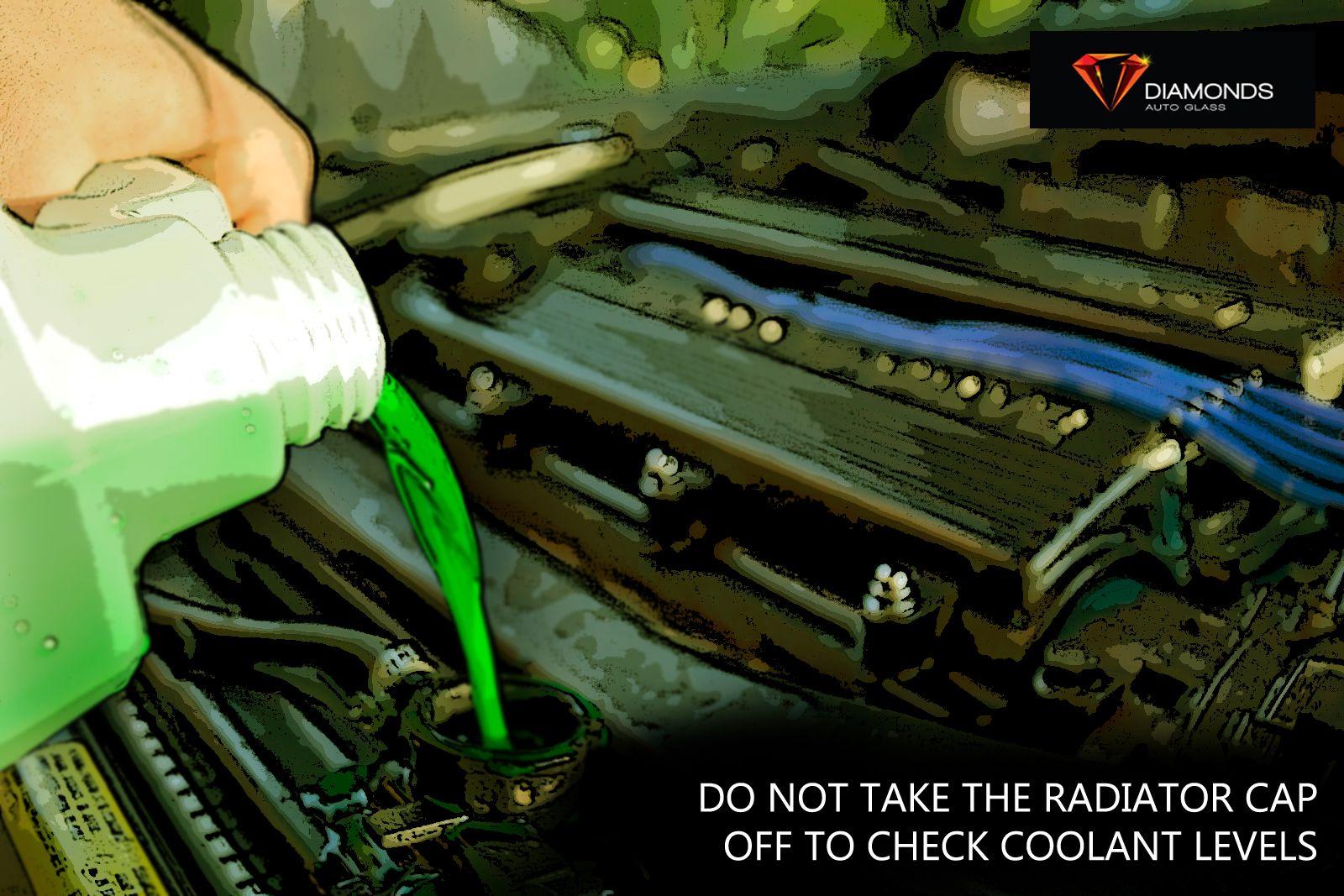 Car maintenance tip do not take the radiator cap off to