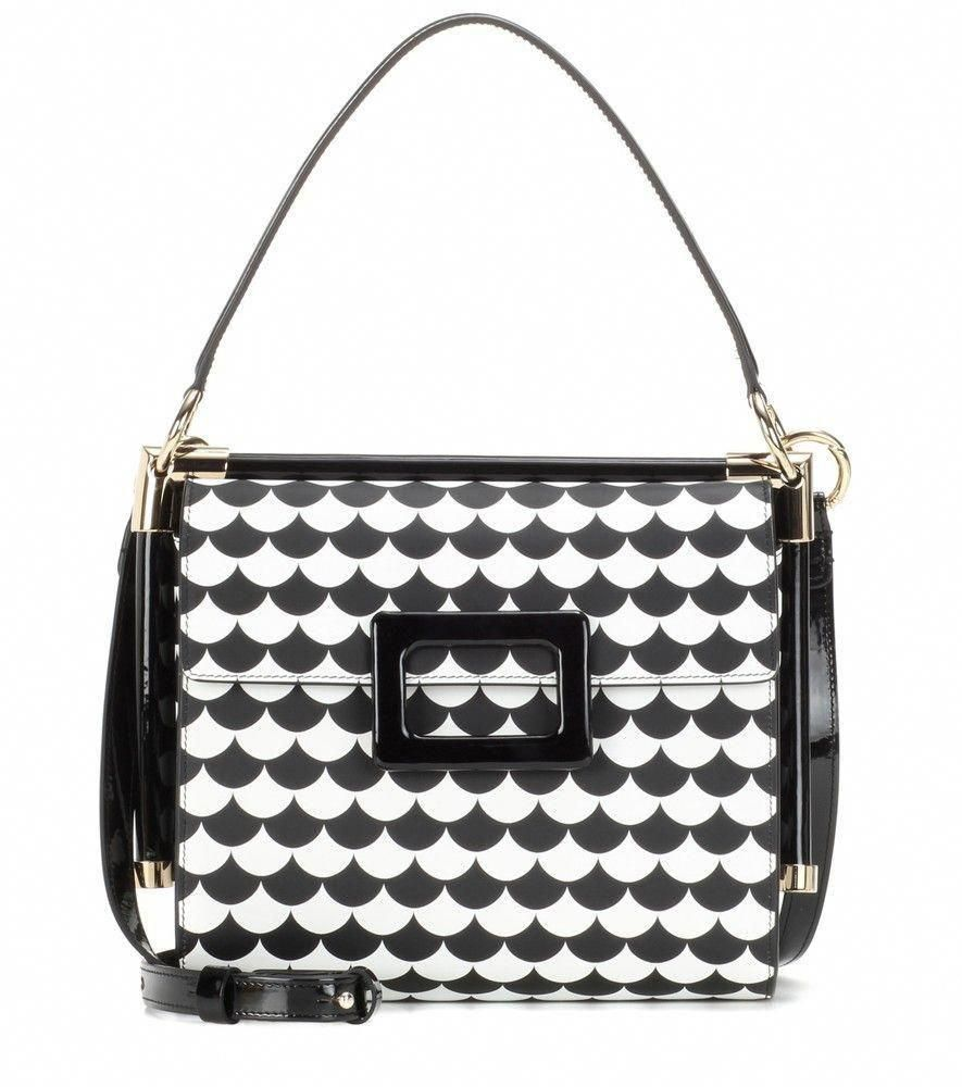 3d555a04d7a4 Roger Vivier - Miss Viv Small leather shoulder bag - Decorated with a  rippled pattern in