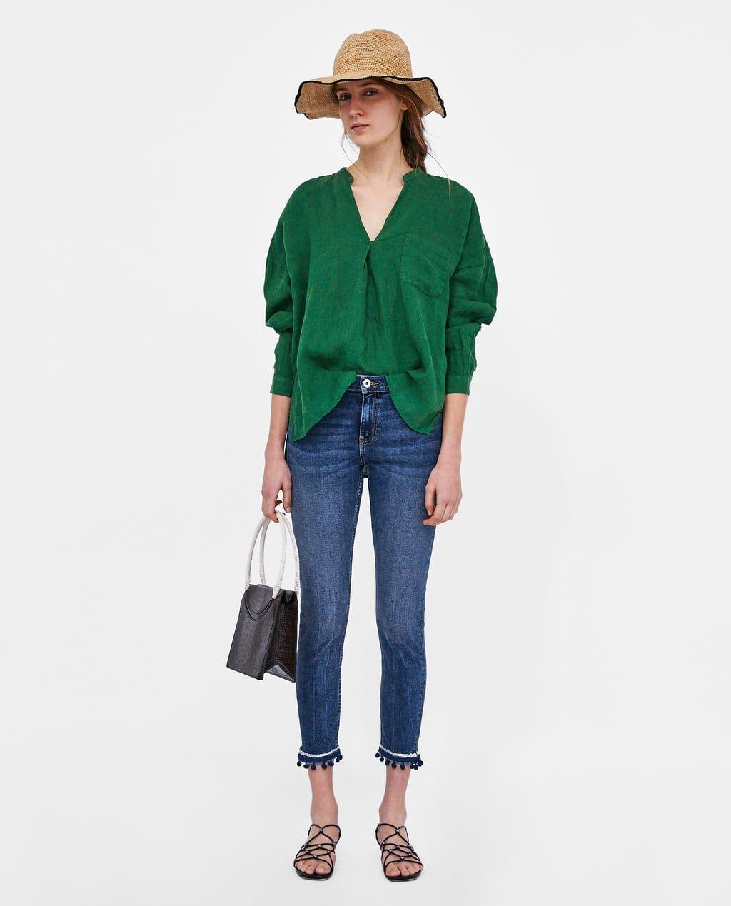 Jeans pour femme   Nouvelle Collection en ligne   ZARA France   look ... 533efd4e88b3