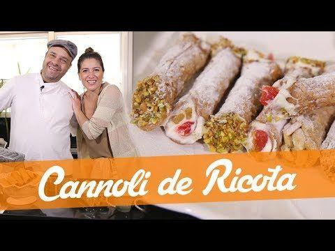 Cannoli De Ricota Receita Do Bake Off Brasil Youtube Com