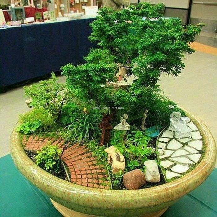Nice Fairytale Garden Photoes