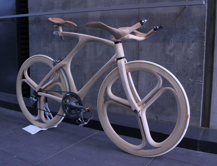 Fahrräder aus Holz: Diese Drahtesel kommen (fast) ohne Draht aus ...