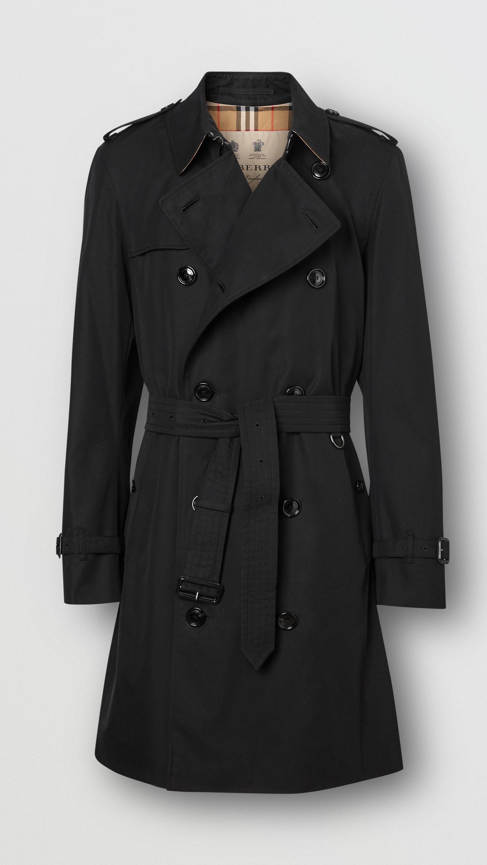 The Chelsea Heritage Trench Coat in Black – Men
