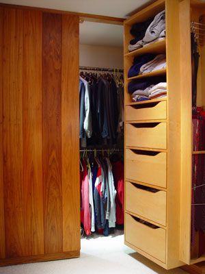 Coval House. Hidden ClosetCloset ...