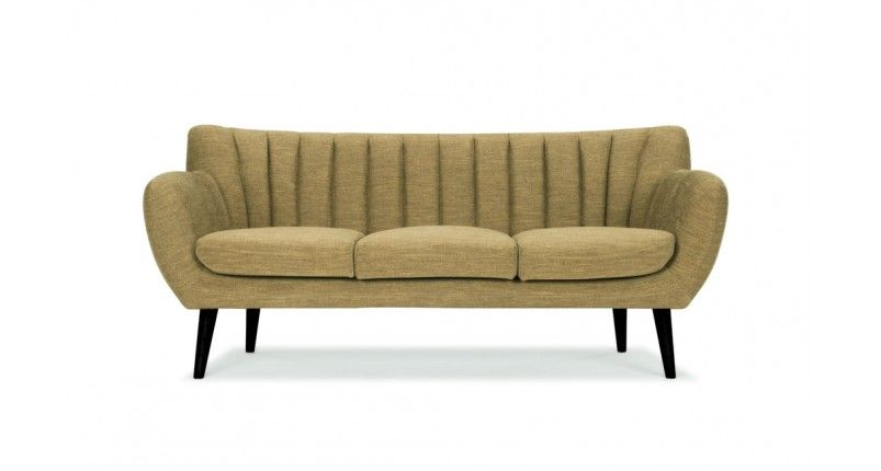 Nana 3 Seater Sofa Eves Olive Products Seating Sofas