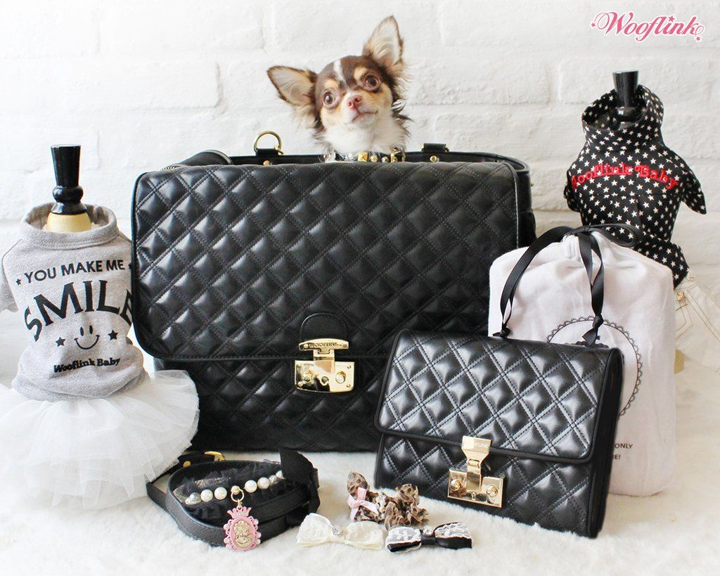 Chic Bag 4 Chic & Luxurious Pet Carrier by Wooflink