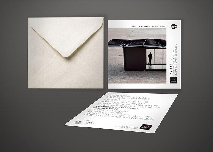 Ynfluence - Création invitation et emailing pour Emerige - promoteur immobilier