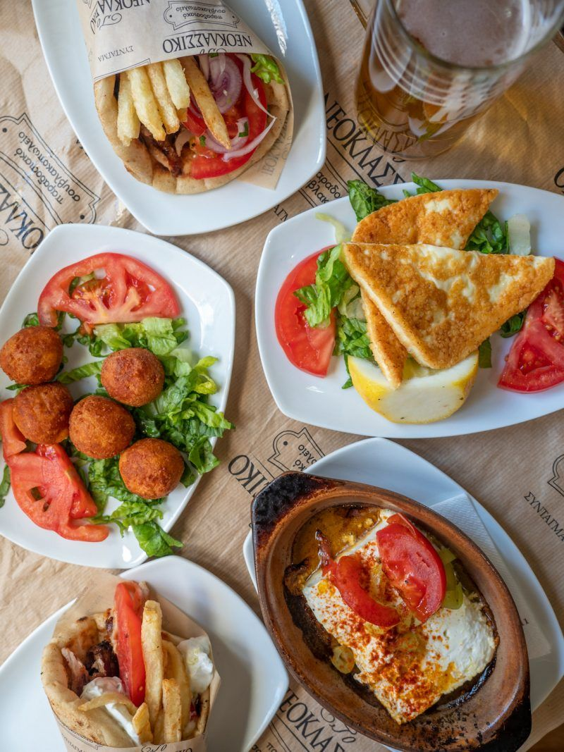 Must Eat Authentic Greek Foods - What to Eat in Athens