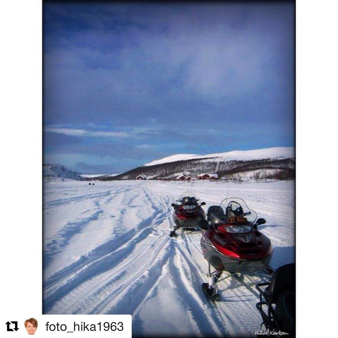Spennende! Må man ha MC-lapp for å kjøre scooter @foto_hika1963 ? #reisetips #reiseliv #reiseblogger  #Repost @foto_hika1963 with @repostapp  Snowscooter excursion from Alta to Karasjok- recommaned #snowscooter #alta #norway #visitnorway #excursion #nature #beautifuldestination #berghansen #mittlilleland #winterwonderland #winter #snow