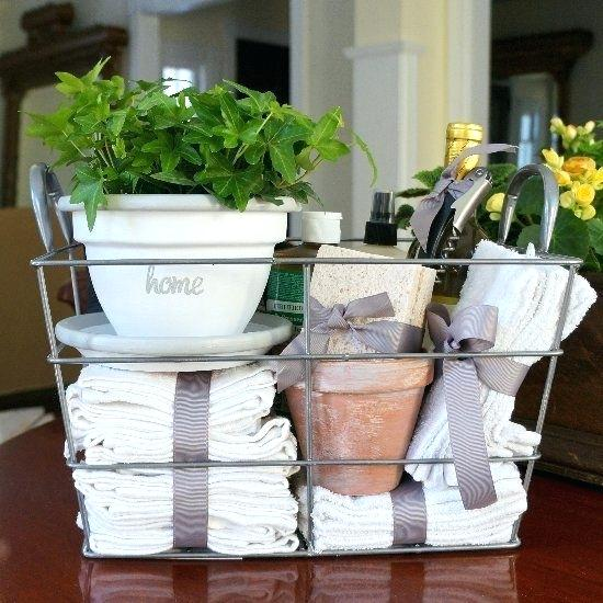 Housewarming Gifts Ideas Gift Basket Stuff With Bathroom Cleaning Supplies Pinterest India House Warming Gift Diy House Gifts Housewarming Gift Baskets