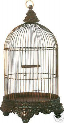 Victorian Birdcage Bird Cage Antique
